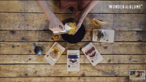 Botanical Latte - Zubereitung