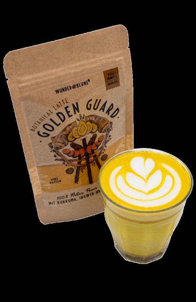 Wunderblume - Gelbe Botanical Latte - Ingwer - Kurkuma - Ashwaghanda - Bag